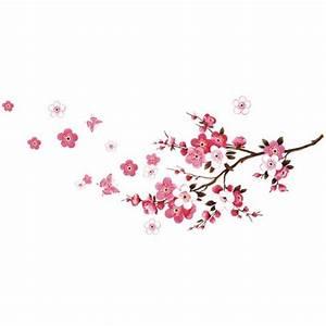 fleur de cerisier affiche de mur etanche autocollant de With affiche chambre bébé avec vente fleurs internet