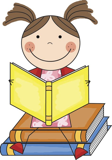 clip on reading l reading book clip art clipart best