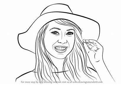 Draw Step Zoella Drawing Tutorials Drawingtutorials101 Learn