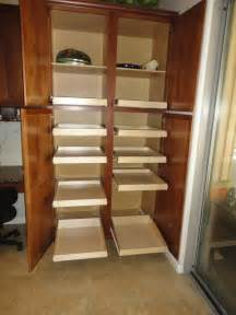 Corner Pantry Cabinet Diy by Pantry Pull Out Shelves By Slideoutshelvesllc Com