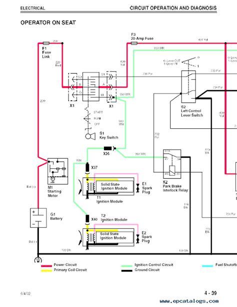 deere f620 f680 f687 z trak tm1678 technical manual