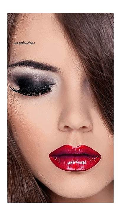 Lips Lipstick Gifs Animated Face Mouth Makeup