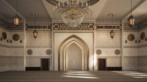 el zaidan mosque interior design  behance arsitektur