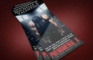 Author rack card ideas free templates adazing for Author business cards example