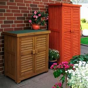 Geräteschrank Garten Holz : leco ger teschrank b t h 87 46 95 cm honigfarben online kaufen otto ~ Whattoseeinmadrid.com Haus und Dekorationen