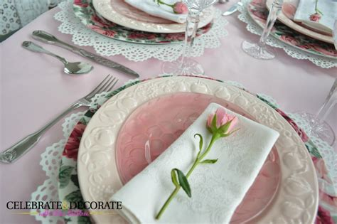 Celebrate Mothers Day Pretty Luncheon by Styling A Pink Luncheon Table Celebrate Decorate
