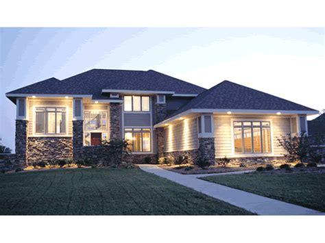 taylor falls prairie style home plan   house plans