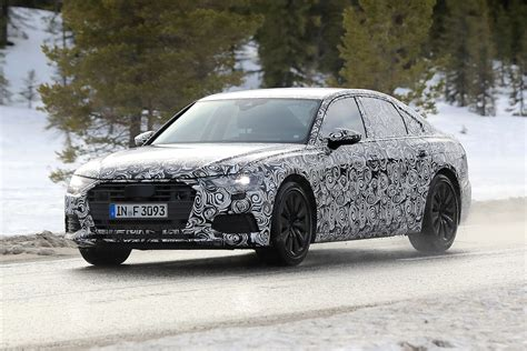 New 2018 Audi A6 First Spyshots Of Audis 5 Series Rival