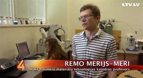 RTU profesors Remo Merijs-Meri skaidro par plastmasas ...