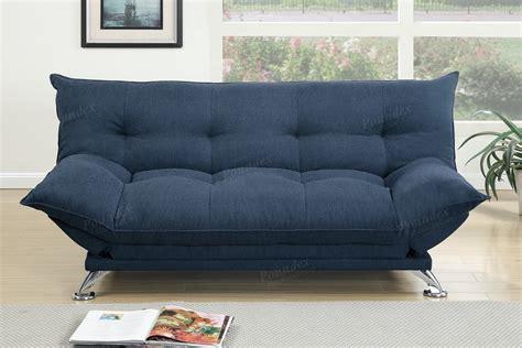 Velvet Sofa Bed by Navy Velvet Fabric Futon Sofa Bed