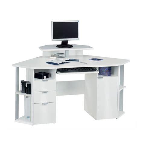 bureau blanc d angle bureau d 39 angle jaimee blanc home24 fr