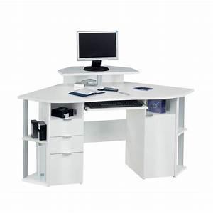 Bureau D Angle But : bureau d 39 angle jaimee blanc ~ Teatrodelosmanantiales.com Idées de Décoration