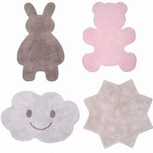 tapis chambre rose elegant tapis microfibre pour chambre With tapis chambre bébé avec livraison une rose