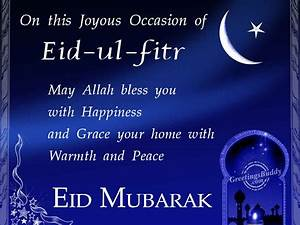 Advance eid ul fitr cards, sms, greetings, messages ...