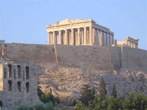 Things I Think I Think The Parthenon And The Acropolis