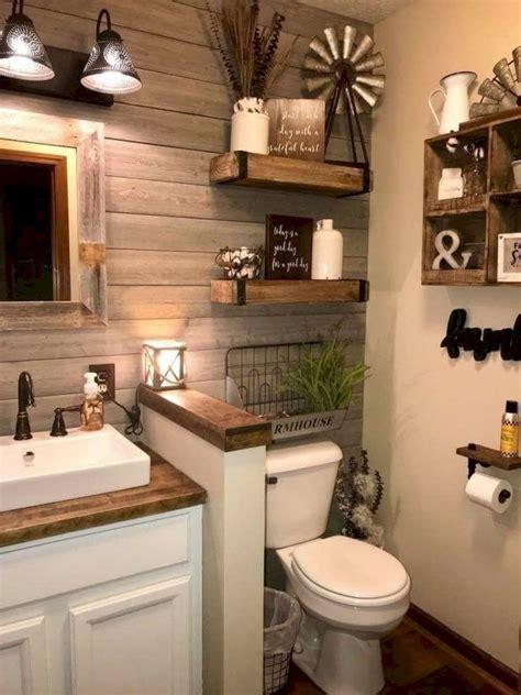 81 Top Rustic Farmhouse Bathroom Ideas Carribeanpiccom
