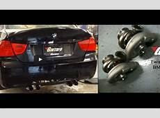 Our Shop car's two new friends E90E92 M3 twin turbo kit