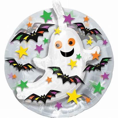 Ghost Balloon Thru Balloons Bats Inch Party