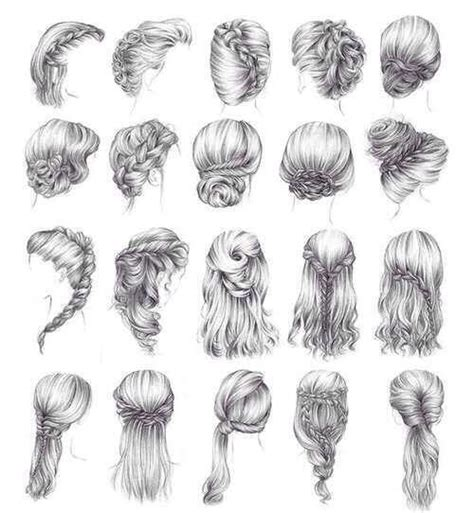 hairstyles hairstyles sketch fashion fashion