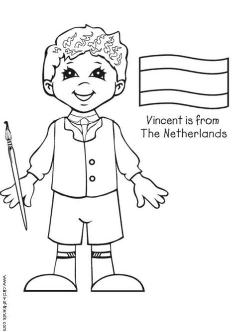 Kleurplaat Spaanse Vlag by Kleurplaat Vincent Uit Nederland Afb 5655 Images