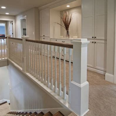 17 best images about stair railing on wood railing stain wood and stairs