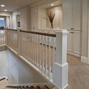 17 Best images about Stair railing on Pinterest Wood