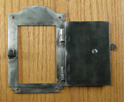 iron door viewer southwestern style  pc iron