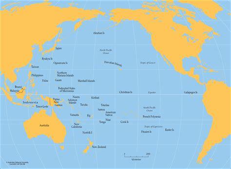 pacific ocean cartogis services maps  anu