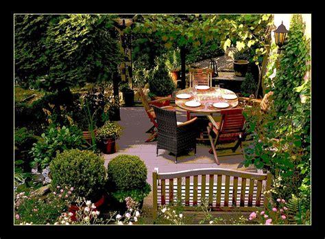 Terrasse  Garten Blog