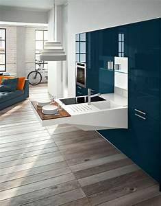 Meuble Cuisine Design : cuisine pour studio comment l 39 am nager ~ Teatrodelosmanantiales.com Idées de Décoration