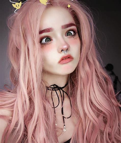 pin  baylee richardson  cute makeup kawaii makeup pastel hair pink hair