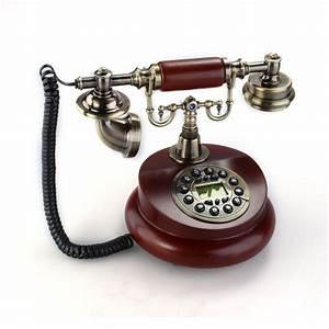 Telephone Mural Vintage : retro vintage antique style bronze home decor desk telephone phone ebay ~ Teatrodelosmanantiales.com Idées de Décoration