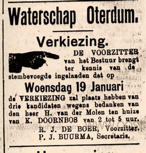 Schouw Waterschap by Waterschap Oterdum Schouwen Watergangen
