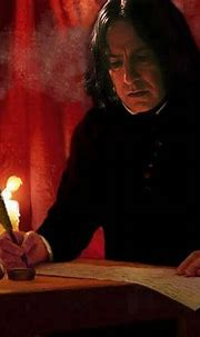 """xpolyjuicepotion: """"Severus Snape, this is breathtaking! 😍💕 ..."""