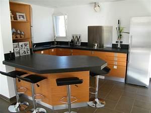 Plan De Travail De Cuisine : table de travail cuisine 2017 avec plan de travail ~ Edinachiropracticcenter.com Idées de Décoration