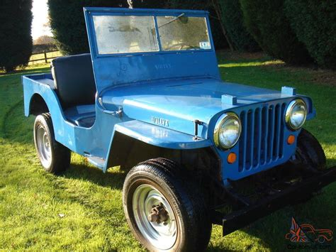 vintage willys jeep willys jeep cj2a classic car military vehicle