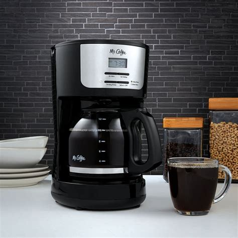 Wake up to fresh coffee every morning with the mr. Mr. Coffee 12 Cup Programmable Coffee Maker - BVMC-FLX23 - Tanga