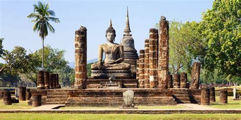 cuisine mondial kit visite du parc historique de sukhothai en thaïlande