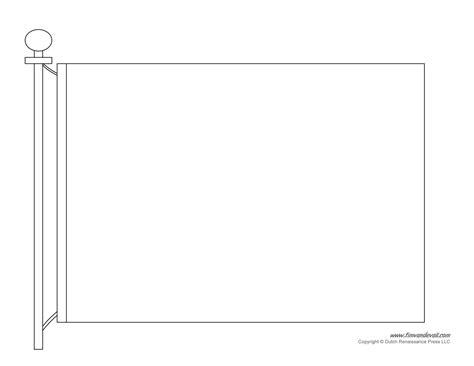 flag template  black white tims printables