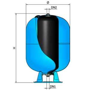 vaso espansione sanitario articolo a032l34 vaso di espansione sanitario chiuso da