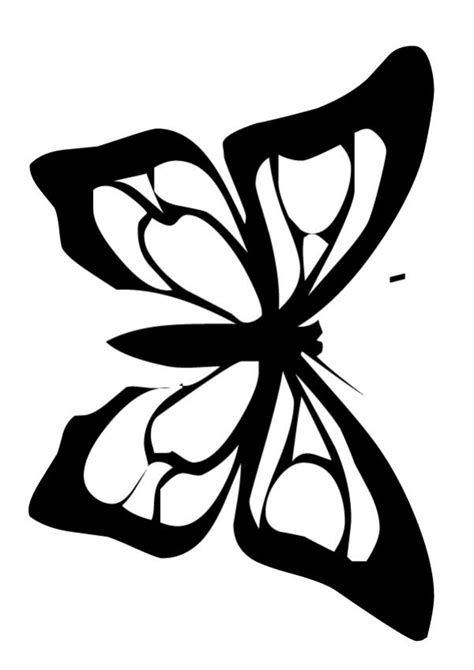 monarch butterfly outline   clip art  clip art  clipart library