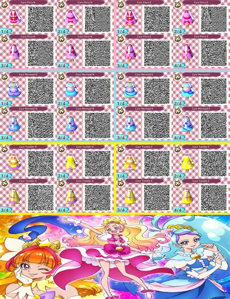 Animal Crossing New Leaf Wallpaper Qr Codes - animal crossing qr codes go princess precure by