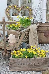 Jardiniere Pas Chere : d coration jardin pas ch re en 30 objets de style shabby chic ou rustique ~ Melissatoandfro.com Idées de Décoration