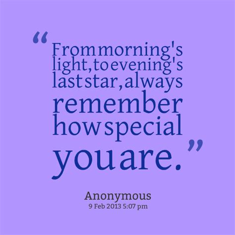 Always Remember You Are Special Quotes
