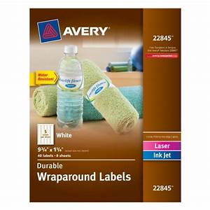 70 printable wrap around jar labels 4 x 13 inches With avery wraparound labels