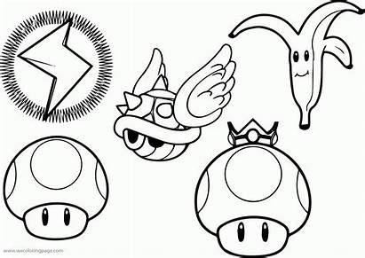 Coloring Mario Characters Pages Super Minions Wecoloringpage