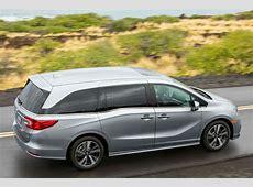 2018 Honda Odyssey side top view Motor Trend