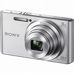 Sony DSC-W830 Digital Camera (Silver) DSC-W830 B&H Photo Video