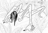 Coloring Aswang Pages Mythology Fantasy sketch template