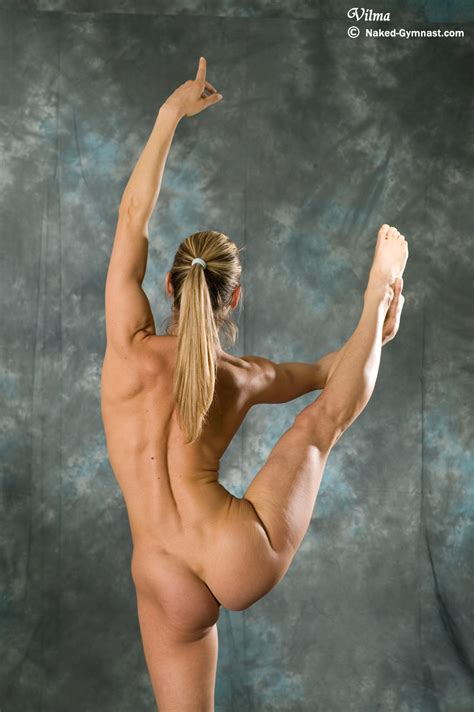 Flexible Gymnast Girl Vilma Gallery 2